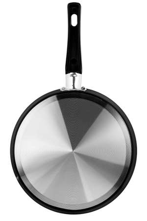 fry pan over white background Imagens - 124956987