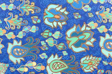 Texture colored ornament on paper Banque d'images