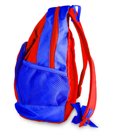 Sport bag isolated on the white background Stockfoto