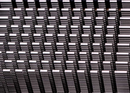 The metal texture in computer. Select focus Stok Fotoğraf - 131841180