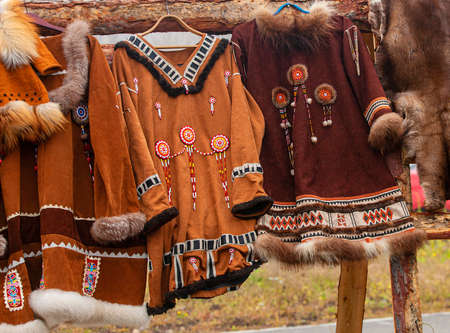 the clothing of the Northern peoples of Kamchatka