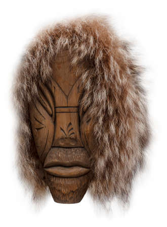 The head Idol of the aborigines of Kamchatka