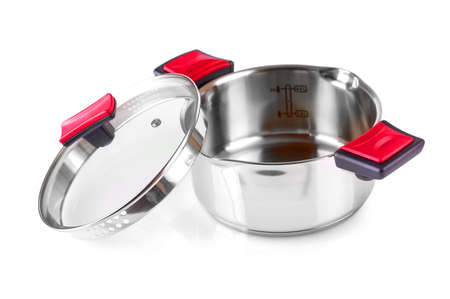 The Open stainless steel cooking pot