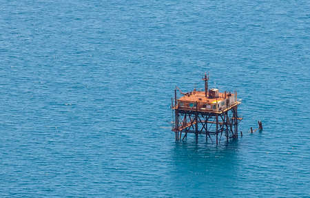 Black Sea science platform, drilling and exploration