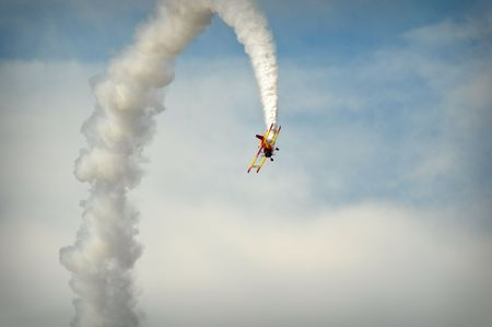 Amazing Stunt Planes at Air Show photo