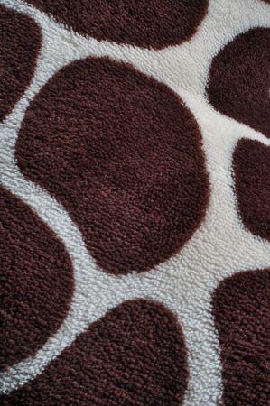 Cerca de jirafa imprimir o fondo Foto de archivo - 6026466