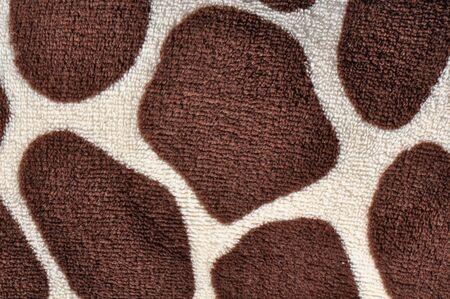 Cerca de jirafa imprimir o fondo Foto de archivo - 6026470