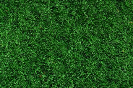 Fake Grass used on sports fields for soccer, baseball and football Stok Fotoğraf