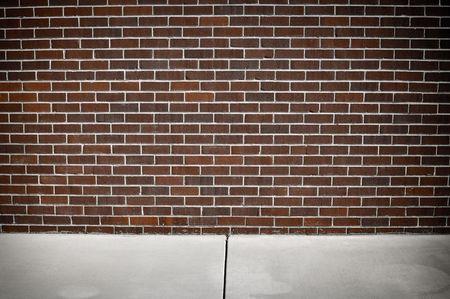 Modern Red  and White Grunge Brick Background photo