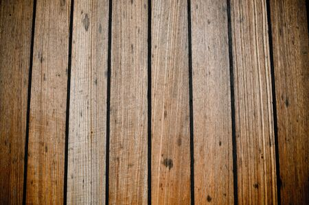 decking: Grunge Wooden Curise Ship Deck Planks Background Stock Photo