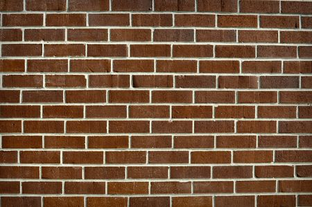 Clean Horizontal Brick Wall Background photo