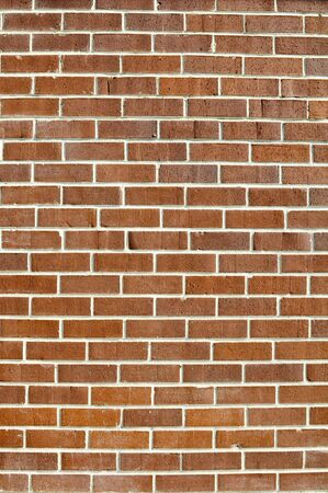 Clean Vertical Brick Wall Background Stock Photo - 6599508