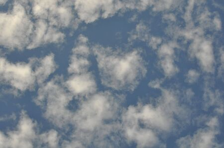 copysapce: Blue Sky and Clouds Background with copysapce
