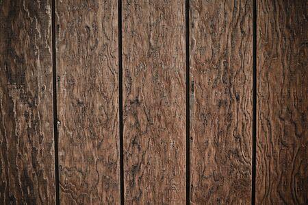 Dark Wood Plank Background with interesting design photo
