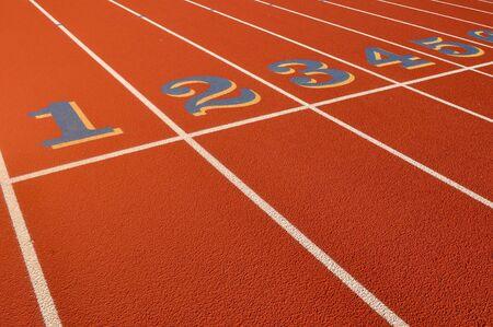 head start: Head Start Red, Blue, Yellow Running Track