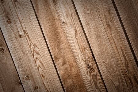 Diagonal Dark Wood Fence Background Stock Photo - 7019352