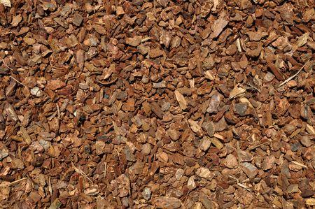 bark mulch: Mulch Red Wood Bark Background