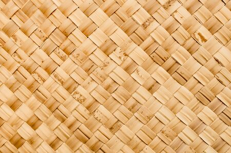 Wicker Woven Texture Background