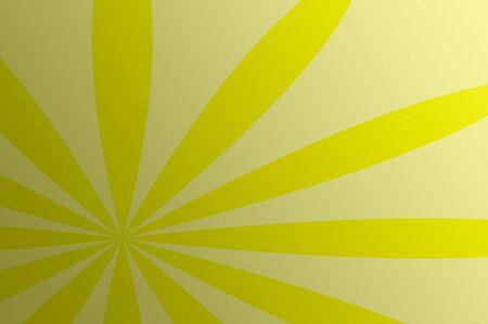 Sunburst Yellow Summer Background Stock Photo - 7310890