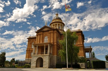 Auburn California Historic Landmark Courthouse in Placer County Stock Photo - 7678025