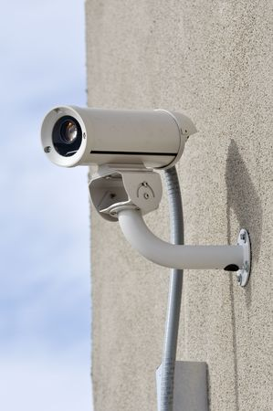 monitoring system: Security Camera Stock Photo