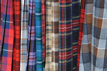Scottish Kilts Imagens
