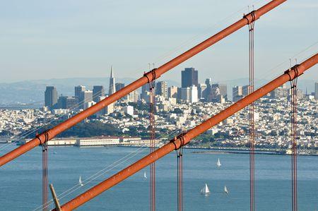 Golden Gate Bridge with San Francisco in Background photo