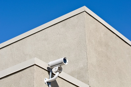 Security Camera on Building Stock Photo - 8338236