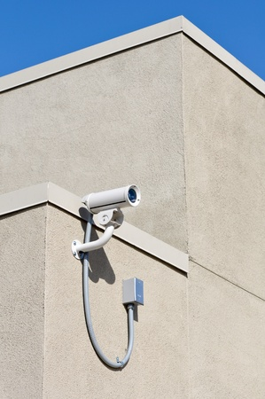 Security Camera on Building Stock Photo - 8338237