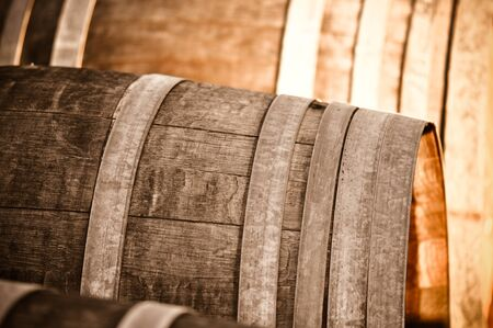 Wine Barrel Stock Photo - 8383044