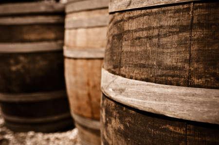 Wijn Barrel Stockfoto - 8461448