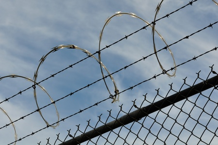 Security Fence Stock Photo - 8485429
