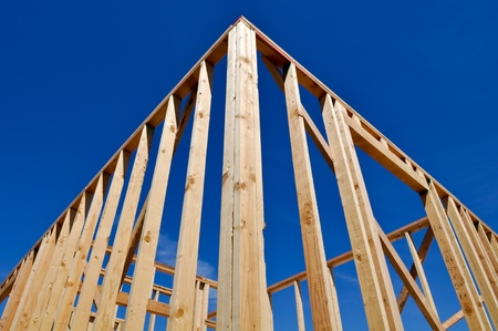 New Home Under Construction Stock Photo - 8499361