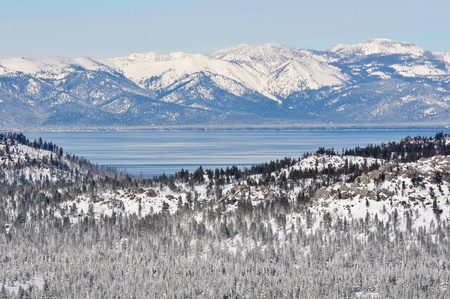 Lake Tahoe California in Winter photo