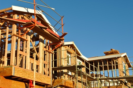 New Residential Homes Under Construction photo