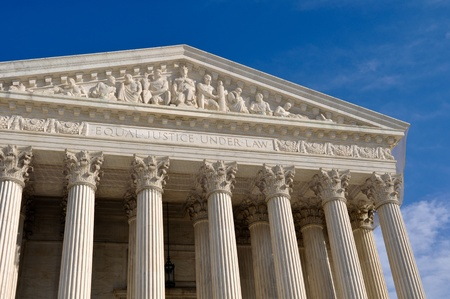 Supreme Court Building of the United States Stock Photo - 8775603