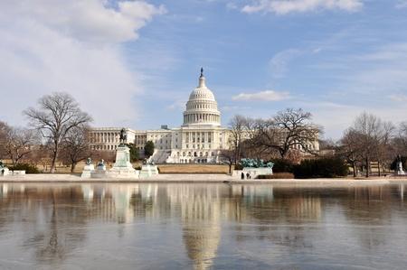 Washington DC Capitol Hill Building photo