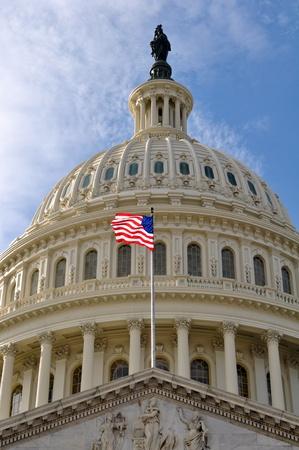 capitol hill: Washington DC Capitol Hill Dome Stock Photo