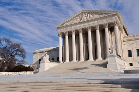 courthouse: Supreme Court of the United States of America