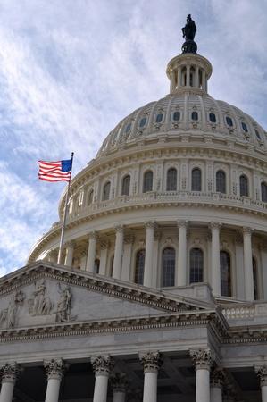 워싱턴 DC 국회 의사당 건물 스톡 콘텐츠