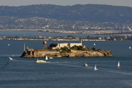 Alcatraz Prison in San Francisco Bay photo