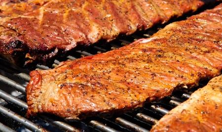 Barbecue BBQ Ribs photo