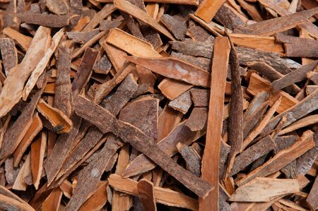 cinnamon bark: Cinnamon Bark Background Stock Photo