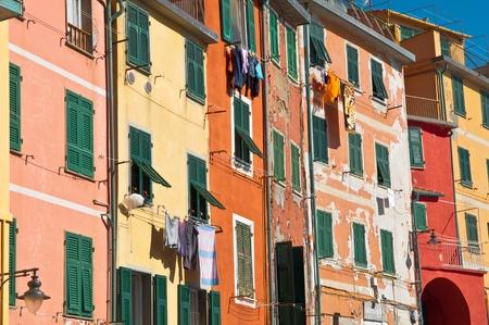 Cinque Terre Colorful Homes near the Sea