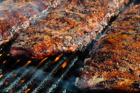 grill: BBQ Ribs on the Grill