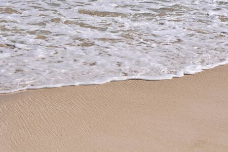 Ocean Waves on the Sand photo