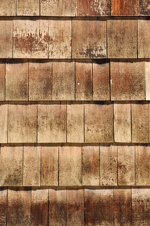 shingles: Wood Roof Shingles Stock Photo