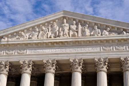 legal court: Supreme Court of United States Stock Photo