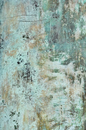 Blue Grunge Metal Texture Background photo