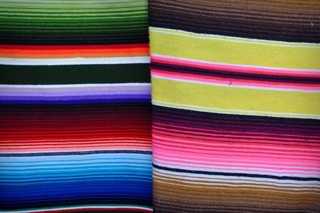 Mantas coloridas de México Foto de archivo - 11480168